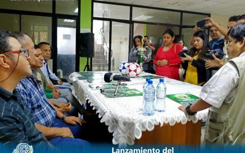lanzamiento del VIII Campeonato de FutSala Tumbara 2020 6